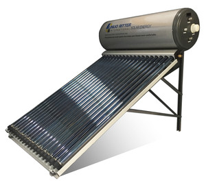 Split Pressurized System with Evacuated Tube Heat Pipe