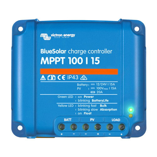Victron Solar Charge Controllers with MPPT