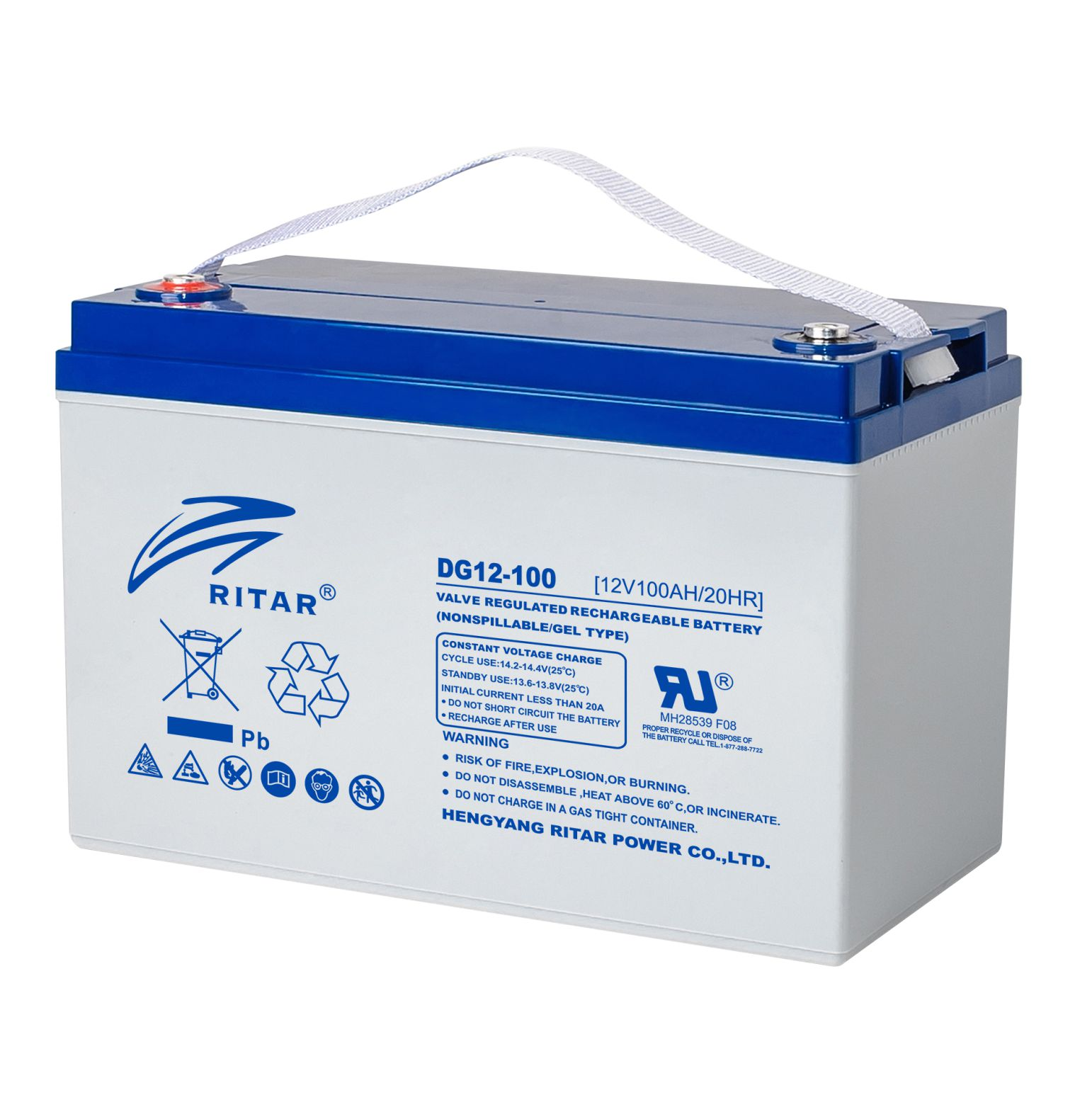 Ritar DG12-200(12V200Ah) Battery