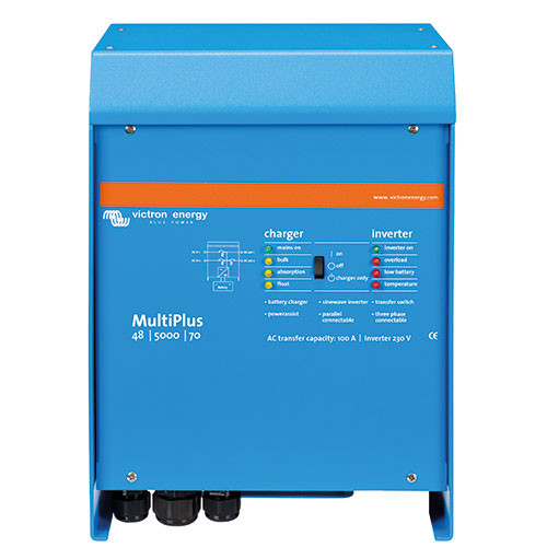 Inverter / Charger Victron Multiplus 24/5000/120-100