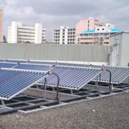 UN-ECA Central Water Heater 3000Lt Project